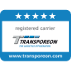 Logo registered carrier Transporeon